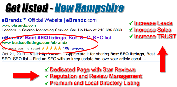 New Hampshire SEO