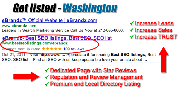 Washington SEO